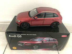 1/18 Audi Q5 red limited edition black wheels - Kyosho