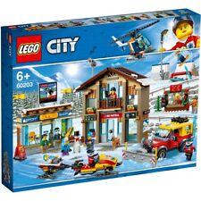 NEW LEGO CITY SKI RESORT 60203