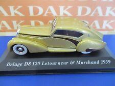 Die cast 1/43 Modellino Auto Delage D8 120 Letourneur & Marchand 1939