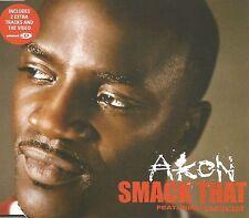 AKON & EMINEM Smack That w/UNRELEASED TRK & VIDEO UK CD Single SEALED USA seller