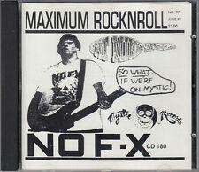 NOFX   Maximum RocknRoll CD FASTPOST