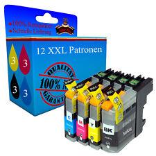12 Drucker Patronen für Brother MFC-J6920 DW MFC-J650 DW MFC-J870 DW MFC-J875 DW
