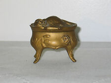 Vanity, Perfume & Shaving Other Antique Glass Victorian Wilhelmshohe Cascaden Cranberry Trinket/jewelry Casket Box