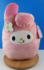 "Squishmallows Hello Kitty Collection My Melodie 12"" New"