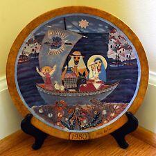 "Hedi Keller Collector Plate ""Flucht nach Agypten"" Flight into Egypt - Germany"