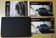 GENUINE VAUXHALL INSIGNIA 2013-2017 OWNERS MANUAL HANDBOOK WALLET PACK !