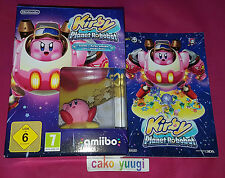KIRBY PLANET ROBOBOT EDITION LIMITEE COLLECTOR VERSION FRANCAISE + NOTEBOOK