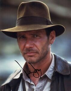 Harrison Ford signed Indiana Jones movie 14x11 photo