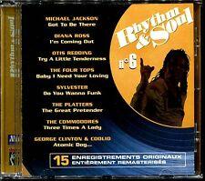 RHYTHM & SOUL N°6 - DISCO FUNK BLACK MUSIC MOTOWN - CD COMPILATION [1972]
