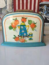 Vintage 50s Era Ohio Art or Wolverine Tin Litho Mechanical Toy Toaster