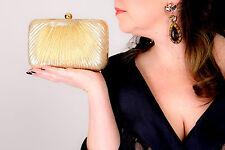1930s art deco vintage inspired gold lurex box bag ACCESSORIZE evening bag