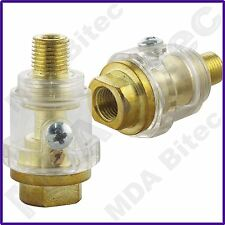 Fast Mover 2 x FMT6061 Mini In-Line Oiler Lubricator Pneumatic Air Tools 1/4""