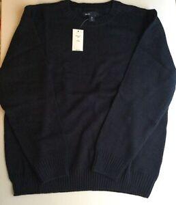 Gap Kids Navy Crew Pullover Boy's  Sweater..Size Large Plus(10)