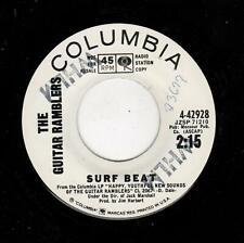 SURF-GUITAR RAMBLERS-SURF BEAT/SURF BEAT-COLUMBIA 42928-PROMO-SAME FLIP