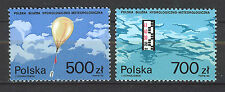 POLONIA/POLAND 1990 SC.2976/2977 Meteorological Service