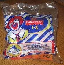2002 - 2003 Fisher Price McDonalds Happy Meal Under 3 Toy - Birdie in Airplane