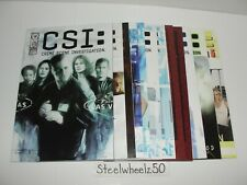 CSI 12 Comic Lot IDW 2003 1 2 3 Bad Rap Demon House Dominoes Thicker Than Blood
