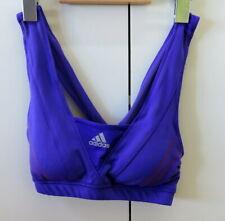 Stylish Blue Sport Bra from Addidas - Size M