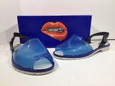 MELISSA Blue ESPARDENA Women's Size 9 Sling Back Jelly Sandals Shoes X2-1509