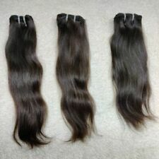 Natural raw hair extensions Straight weft cuticle aligned hair 3 Bundle
