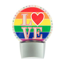 Flashing LED Rainbow LGBT LOVE Night Light
