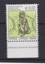 CYPRUS MNH STAMP SET 2011 REFUGEE RELIEF FUND