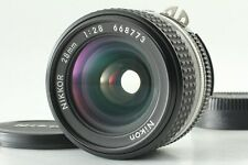 [MINT] Nikon Ai-s Nikkor 28mm F/2.8 MF Wide Angle Lens Ais From Japan #381