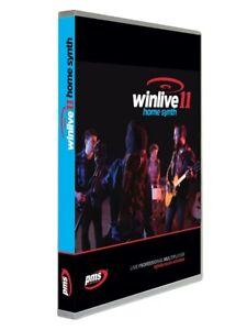 Winlive Home 11 Synth - software Karaoke Audio e midi con suino ( Licenza online