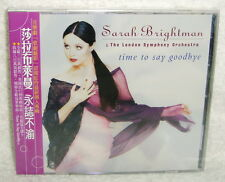 Sarah Brightman Time to Say Goodbye Taiwan CD w/OBI (ft. Andrea Bocelli)