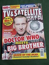 TV & SATELLITE WEEK UK MAGAZINE -11-17 JUNE 2005 -JENNIFER BEALS - DOCTOR WHO
