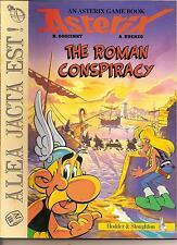 ASTERIX THE GAUL GAME BOOK - THE ROMAN CONSPIRACY