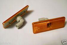 RUBBOLITE amber LED side marker lamp light for Mercedes Atego Actros Axor x1