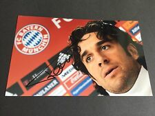 Luca toni fc bayern munich signed photo 13x20 en-persona