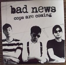"BAD NEWS Cops Are Coming 7"" NEW mid-00's garage-punk His Electro Blue Voice"