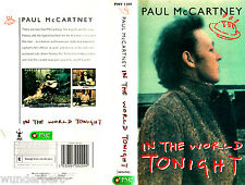 "VHS - "" Paul McCARTNEY - In The World Tonight "" (1997)"