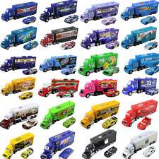 Disney Pixar Cars 3 2 Number Mack Truck Jackson Storm Mcqueen  Metal Cars 1:55