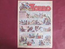 ZORRO N°250 25 MARS 1951 ERIK PELLOS OULIE CLARENCE GRAY SAINT OGAN BON ETAT