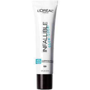 LOreal Paris Makeup Infallible Pro Glow Lock Face Makeup Primer 1 fl oz
