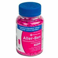 Member's Mark Diphenhydramine HCI 25mg Antihistamine 600 Tablets