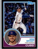 Kris Bryant 2018 Topps Update 1983 TOPPS Black 180/299 Cubs #83-44