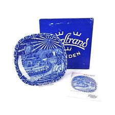 Julen Rorstrand Sweden 1977 Limited Edition Christmas Plate With Box Varmland