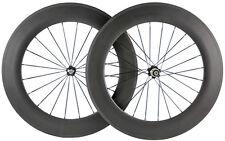 700C Carbon Wheelset 88mm Cycling Road Bike Clincher Carbon Wheels 271Hub Basalt