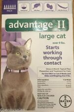 K9 Advantage II / 2 18 Flea Drop Medicine for Cats 6 Pack K-9 6 Month Supply NEW