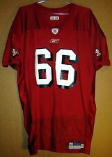 SAN FRANCISCO 49ERS ERIC HEITMAN  66 RED NFL PRACTICE Size 3X Reebok JERSEY 8bf865dea