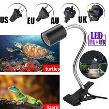 Reptile Pet Light Holder Heat Emitter Lamp Bulb Heater Turtle Brooder Basking