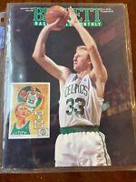 Beckett Basketball Monthly #28 - November 1992 - Larry Bird Cover NEAR MINT