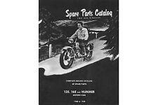 Hummer Spare Parts Catalog for 1948-1955 For Harley-Davidson