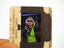 More details for original press promo slide negative - blondie - debbie harry - 1999 - d