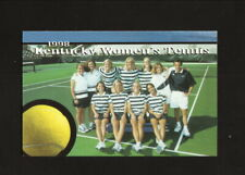 Kentucky Wildcats--1998 Tennis Pocket Schedule