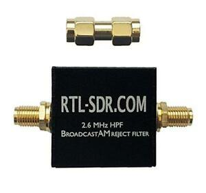 Broadcast AM Reject High Pass Filter (2.6 MHz HPF) by RTL-SDR Blog